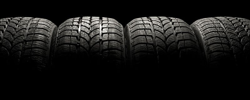 Four Used Tyres